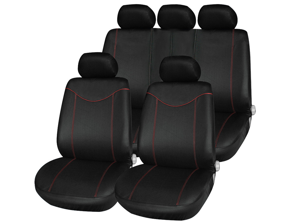 T21638 11pcs Universal Low-back Car Seat Cover Set Four Seasons Auto Cushion Interior Accessories