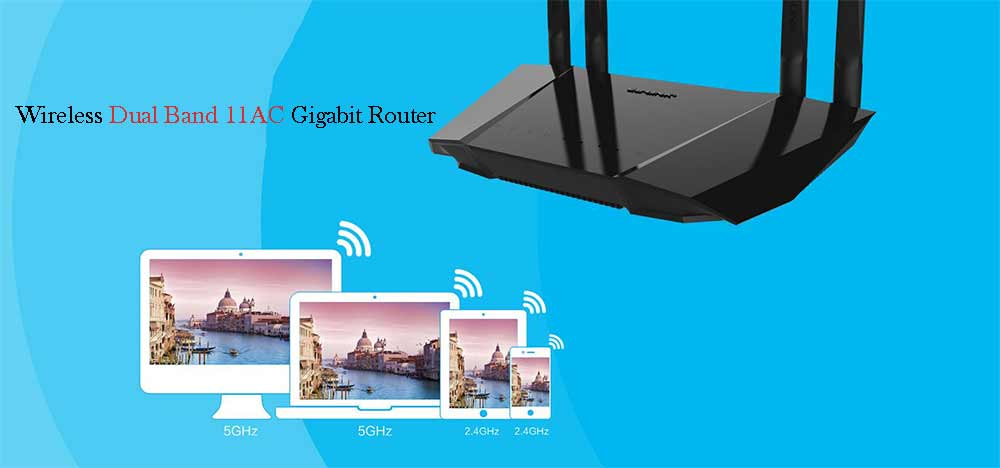 LB-LINK BL - W1210M 1200Mbps 11AC Wireless Dual Band Router