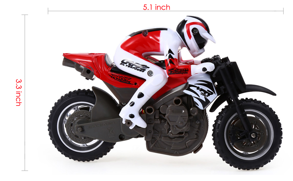 Huanqi 2.4GHz Off Road Mini Telecontrol Motorcycle Toy