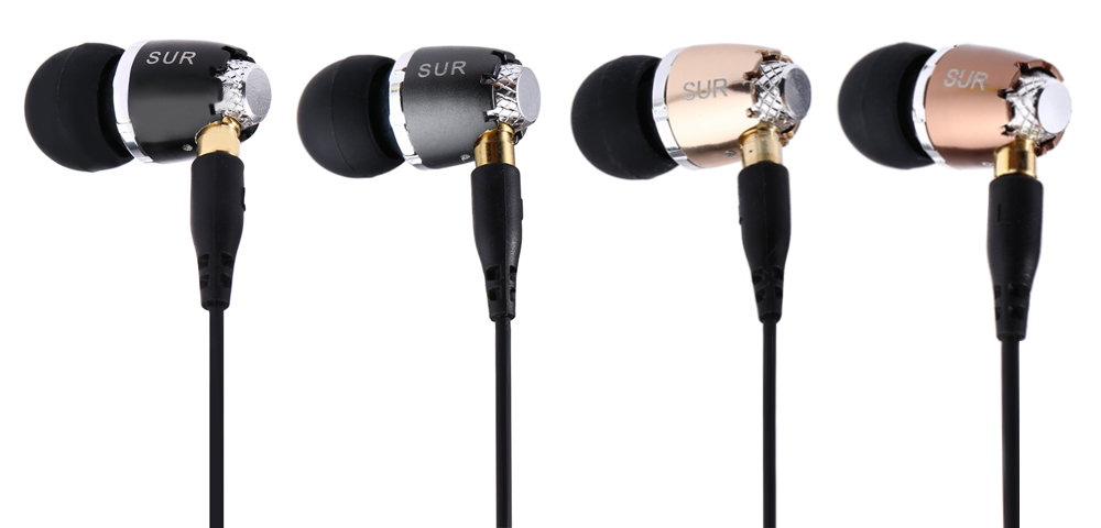 JBMMJ SUR S520 In-ear 3.5MM Stereo Dynamic Music Earphones with Microphone