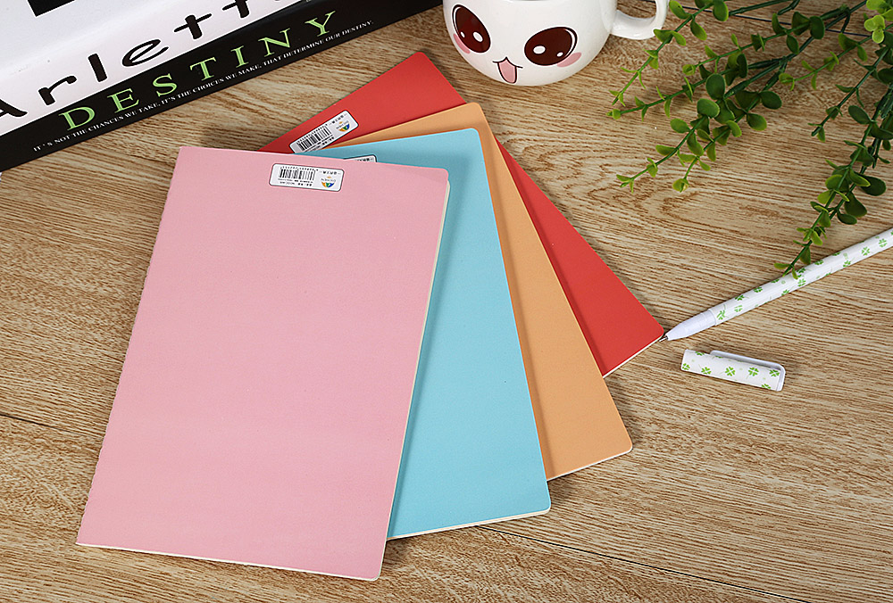 4pcs 140 x 210MM A5 Fashion Paper Notebook