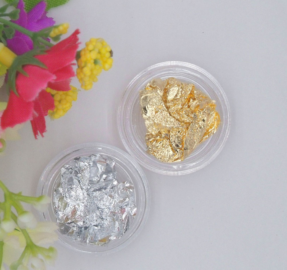 Manicure Nail Accessories Phototherapy Special Manicure Gold Foil Sticker