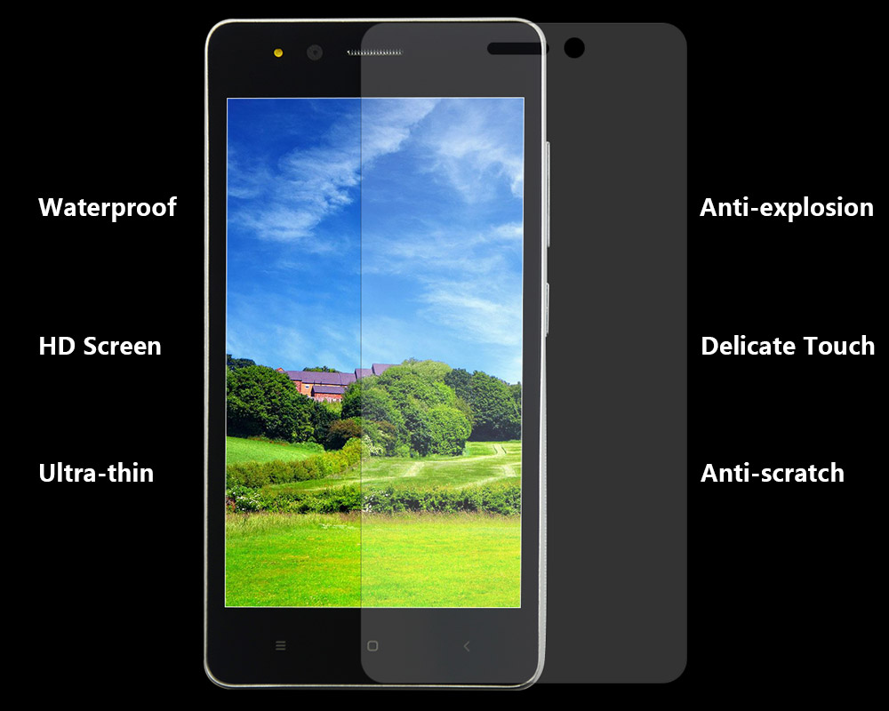 Ultra-thin Tempered Glass Screen Protective Film for Vkworld F1