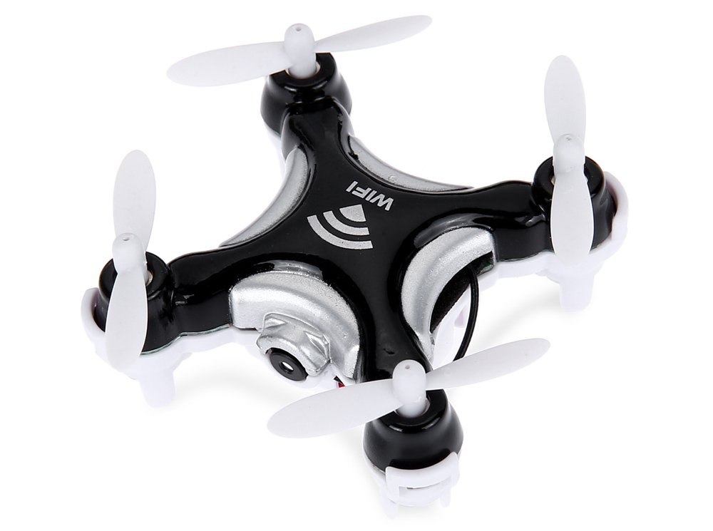 NO.1508 2.4G 4CH 6-Axis 0.3MP Camera WiFi RTF Mini RC Quadcopter Toy
