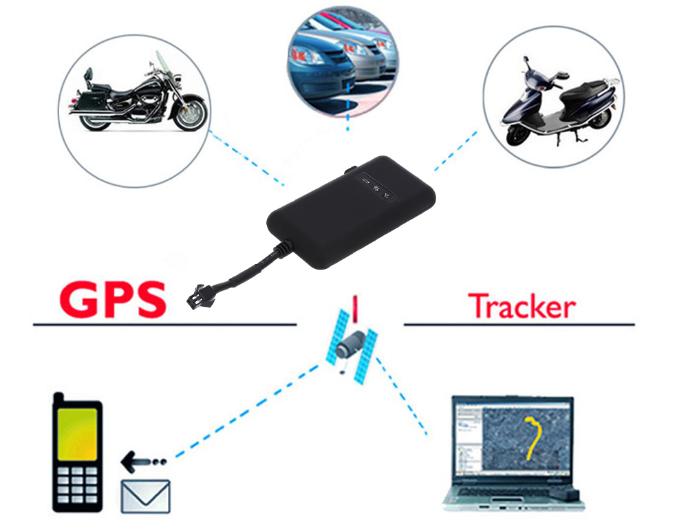 GT02A Car Vehicle Electric Motorbike Tracker GPS Locator Real-time Tracking Device