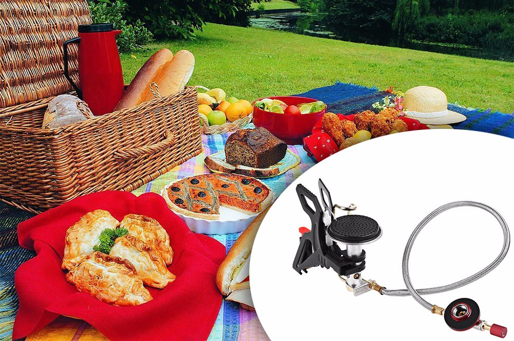 ALOCS CS - G22 Powerful Gas Grills for Camping Cooking Outdoor