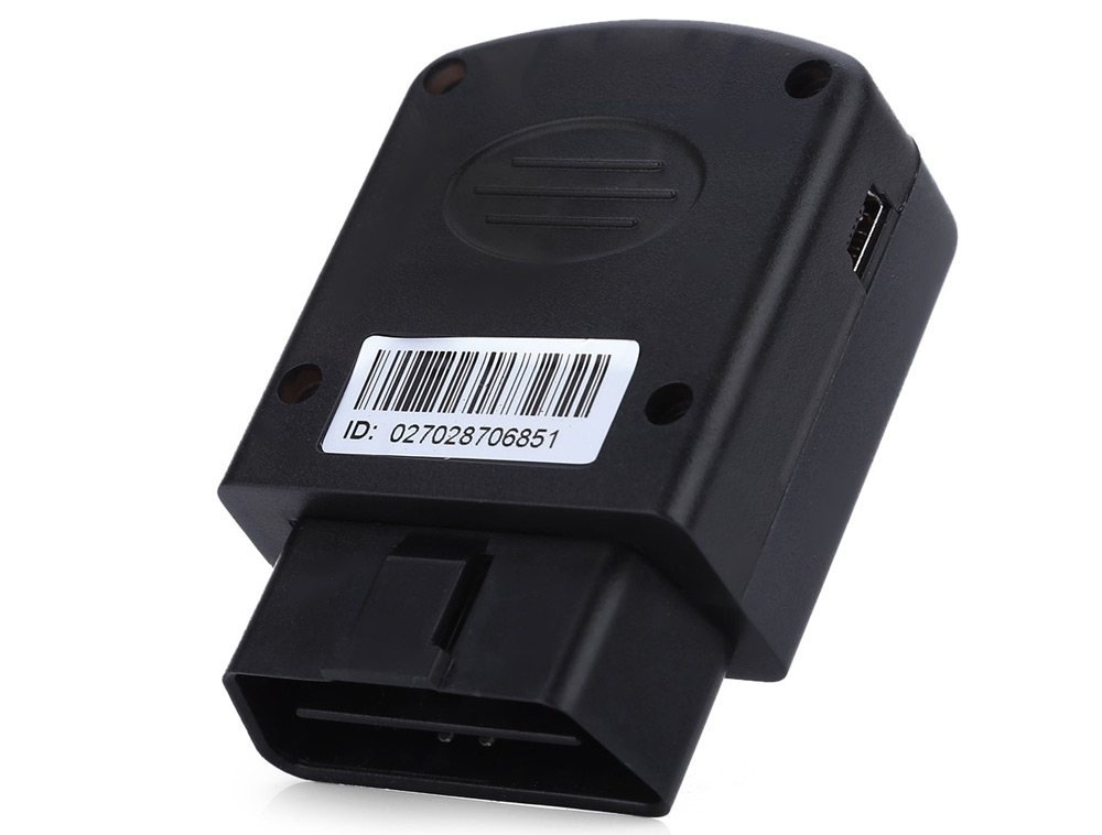 OBD Vehicle GPS Tracker Water-resistant Tracking System
