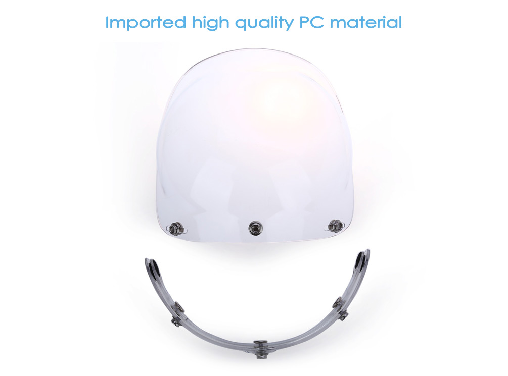 3-Pin Buckle Face Shield Lens for Motorcycle Helmet