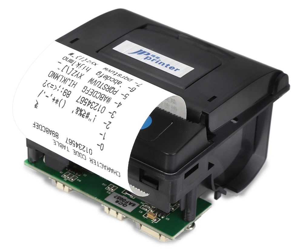 JP QR203 58mm Mini Embedded Receipt Thermal Printer Compatible with EML203