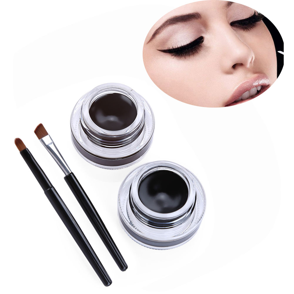 Waterproof Long Lasting Charming Double Color Eye Liner