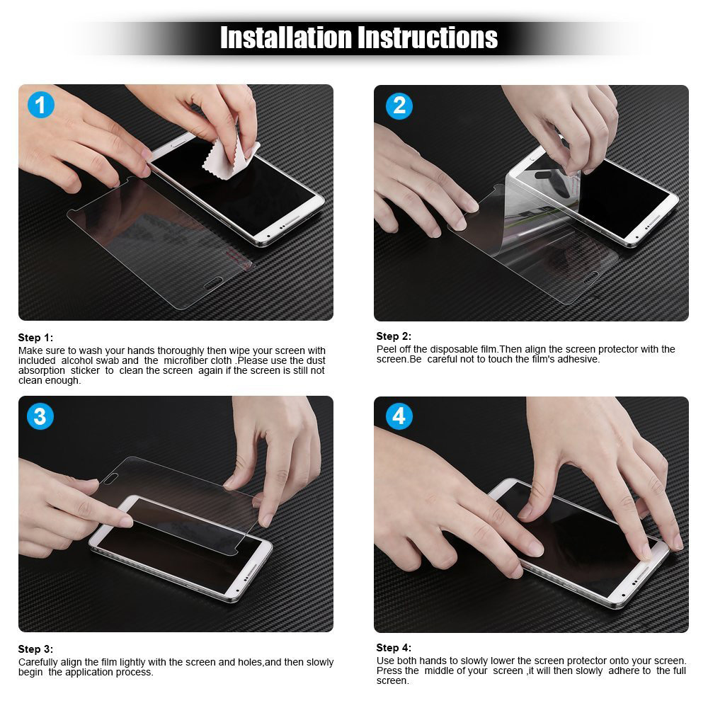2pcs 9H 2.5D Ultra Thin Tempered Glass Protective Film for Sony Z5 5.2 Inch