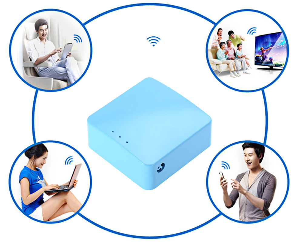 GL.iNet GL - MT300A IEEE 300Mpbs 802.11 b / g / n Portable Wireless Smart Router