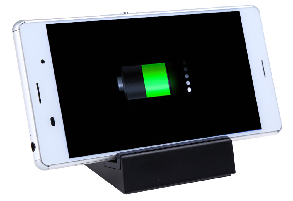 DK48C Magnetic Charger Dock Desktop Cradle Phone Charger with 2 Slots for Sony Z3 Mini