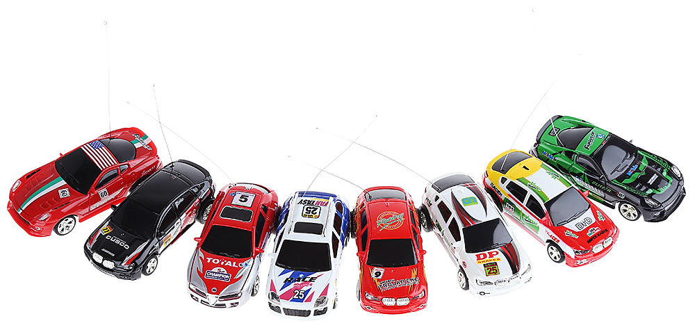 WLtoys 2015 - 1A 4CH High Speed Mini Remote Control Radio Racing Coke Car Toy