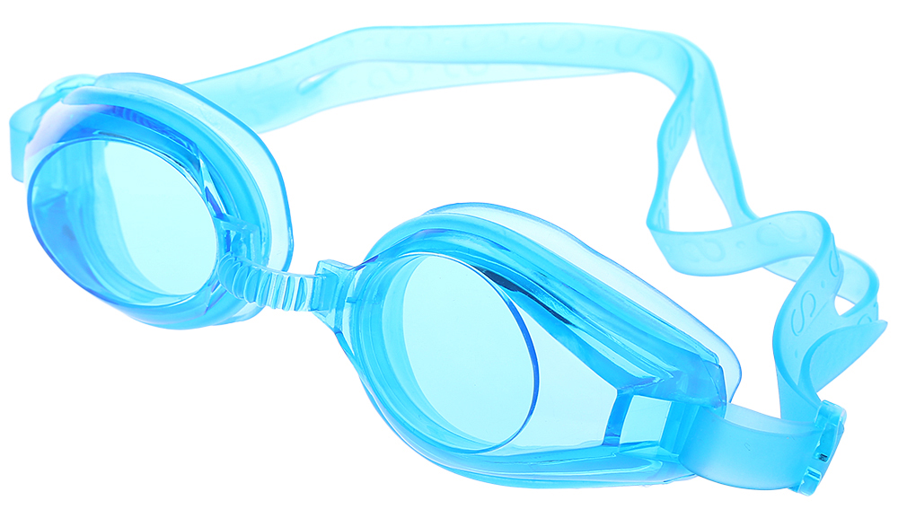 Protected Swimming Goggles Adjustable Glasses with Ear Plug