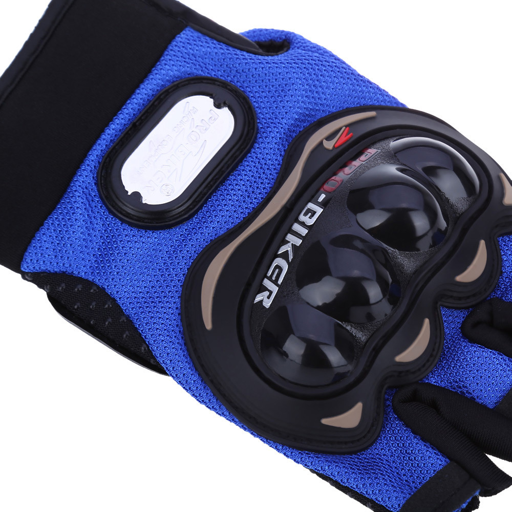 Paired Half-finger Motorcycle Gloves Motorbike Outdoor Sports Racing Protective Gears