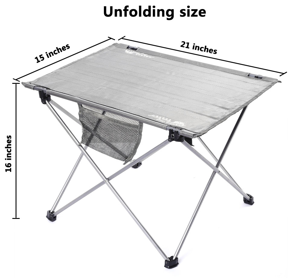 BRS - Z33 Portable Ultralight Folding Table for Picnic Camping Hiking