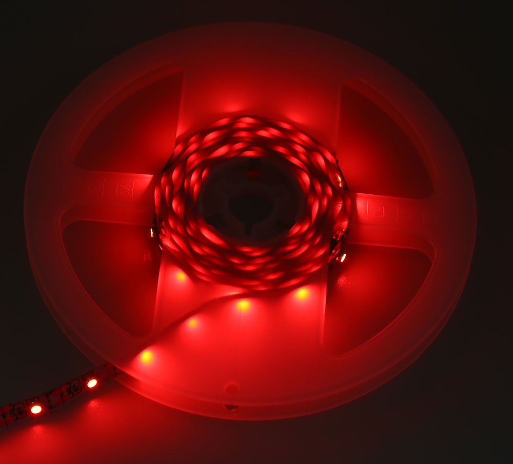 5V 2M LED Strip Tape TV Background Lighting DIY Decorative Lamp with USB Cable