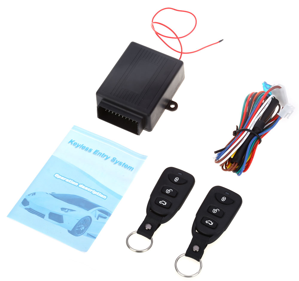 433.92MHz Universal Car Vehicle Remote Central Kit Door Lock Keyless Entry System