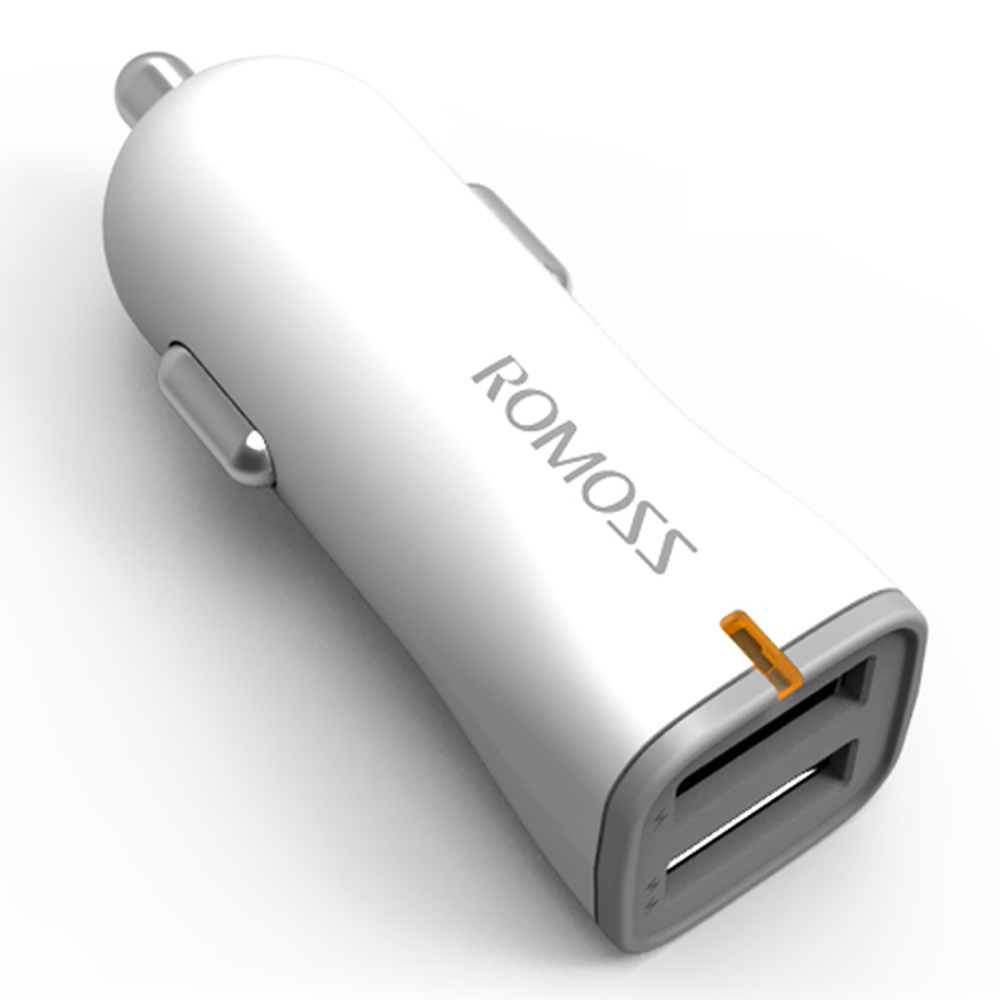 Romoss AU17 Dual USB Quick Charging Car Charger