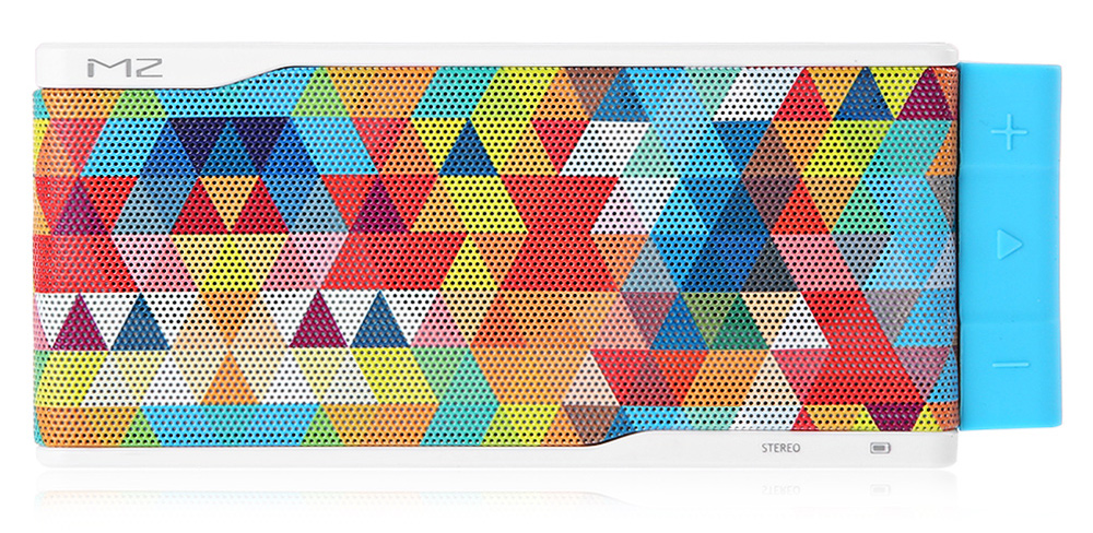 DT M2 Colorful Mesh Surface Stereo Bluetooth Speaker with Microphone