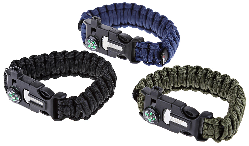 Inlife Lifesaving Paracord Survival Scraper Bracelet Emergency Kit