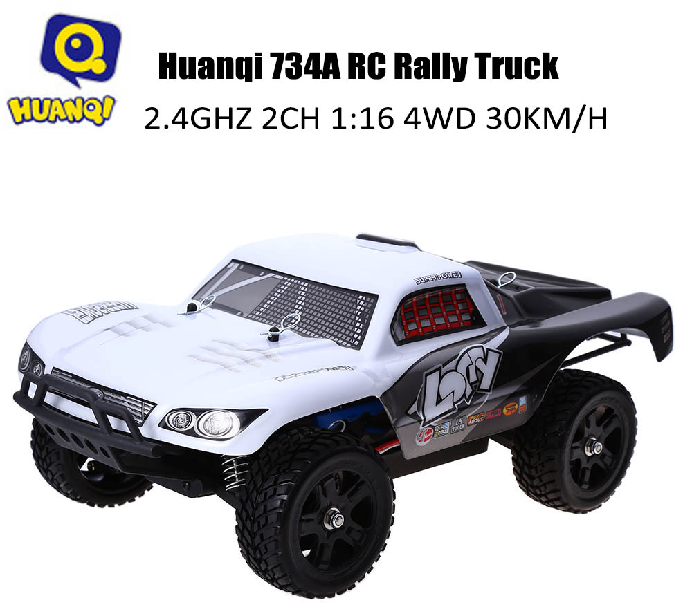 Huanqi 734A 2.4GHz 1:16 4WD 30KM/H Remote Control Rally Truck RTR