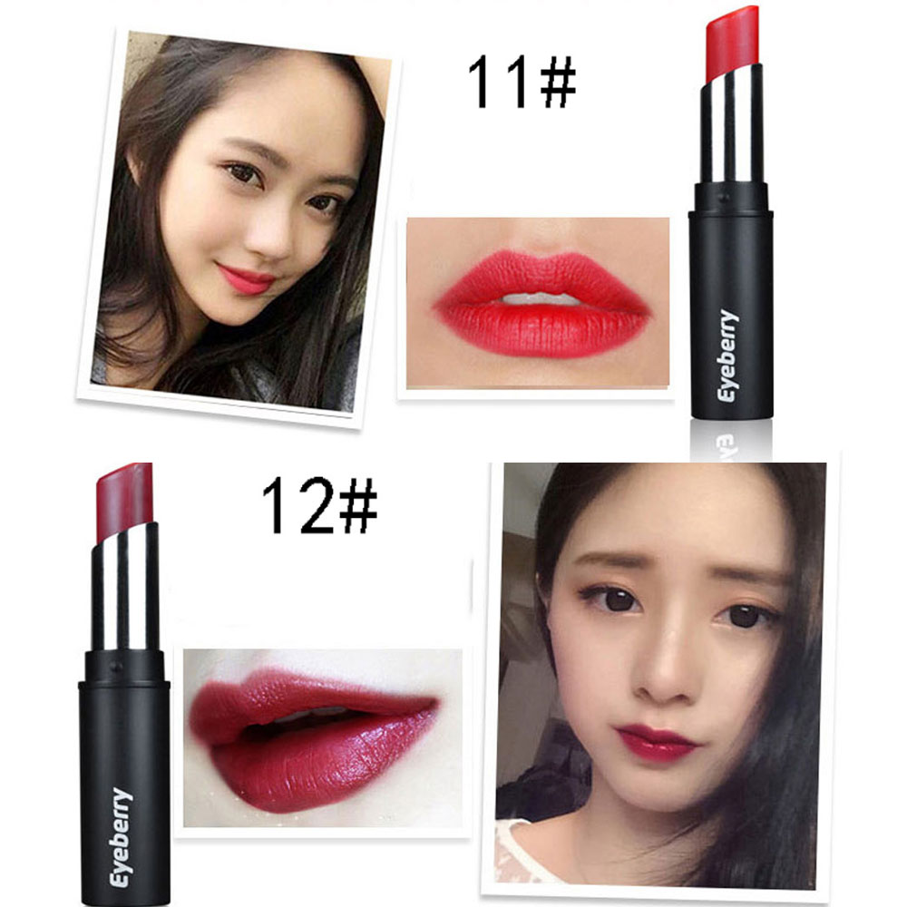 Old Classical Waterproof Long Lasting Matt Bean Makeup Lipstick