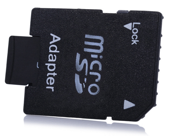 4GB TF Memory Card Class 6 with Micro SD Adapter Combo