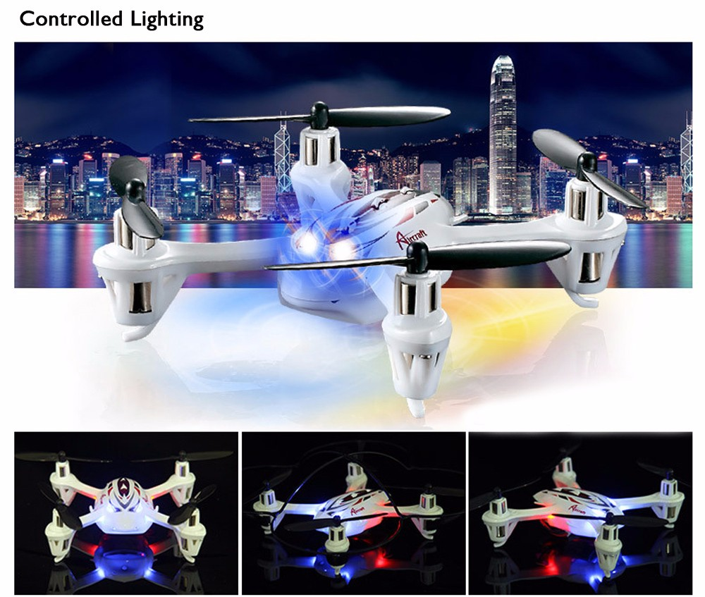 Huanqi 887 2.4G 4CH 6-Axis Gyro RTF Remote Control Quadcopter Mini Aircraft Toy
