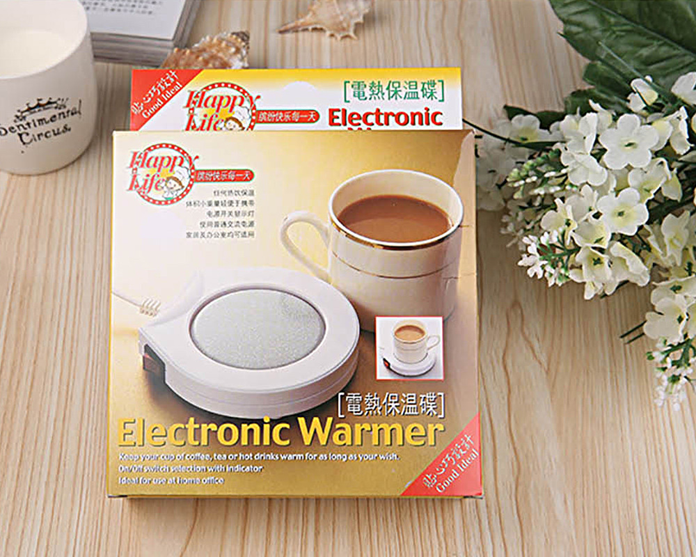 Portable Office House Use Electric Warmer Cup Coffee Milk Heating Pad