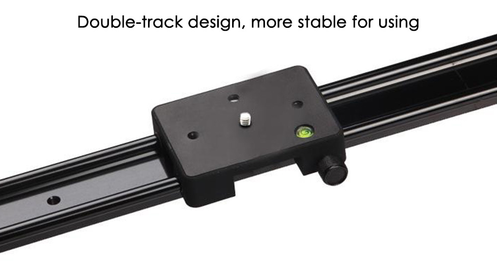 WH60R 60CM ( 23.6-Inch ) DSLR DV Camera Track Dolly Slider Video Stabilizer System