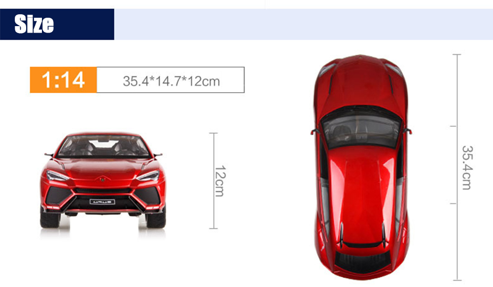 Huanqi 636 1:14 Scale Remote Control Racing Car Toy