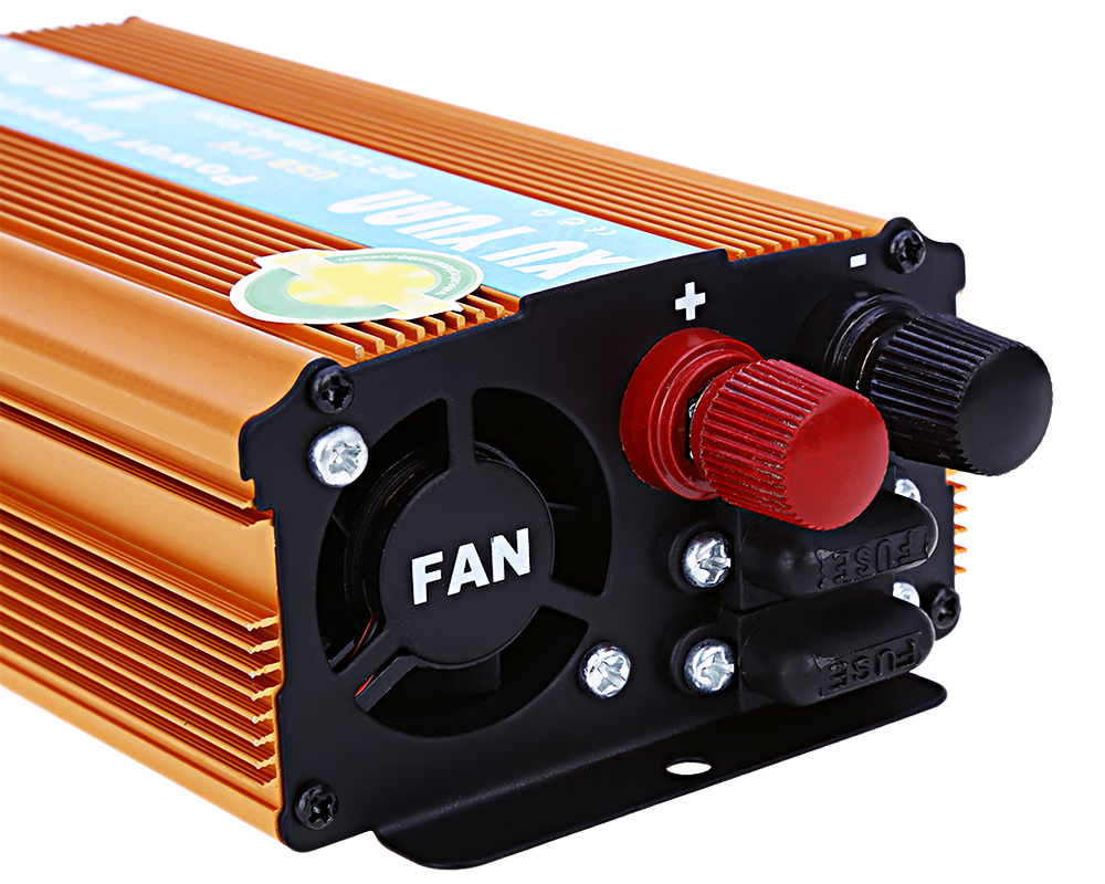 1200W DC 12V to AC 220V Car Power Inverter