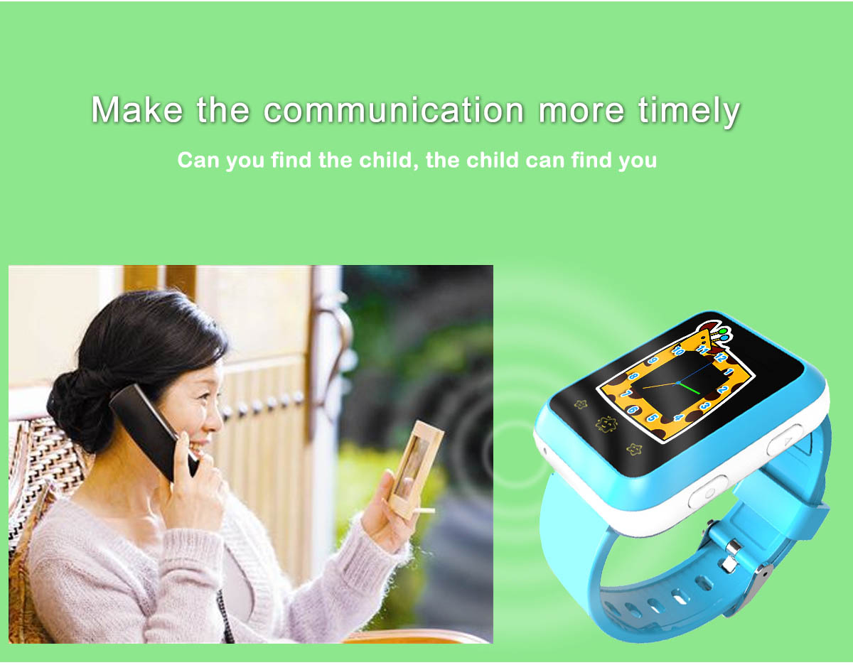 RWATCH XIAO R 1.22 inch Children GPS Smartwatch Phone Touch Screen MTK6261 SOS WiFi Family Numbers Bluetooth