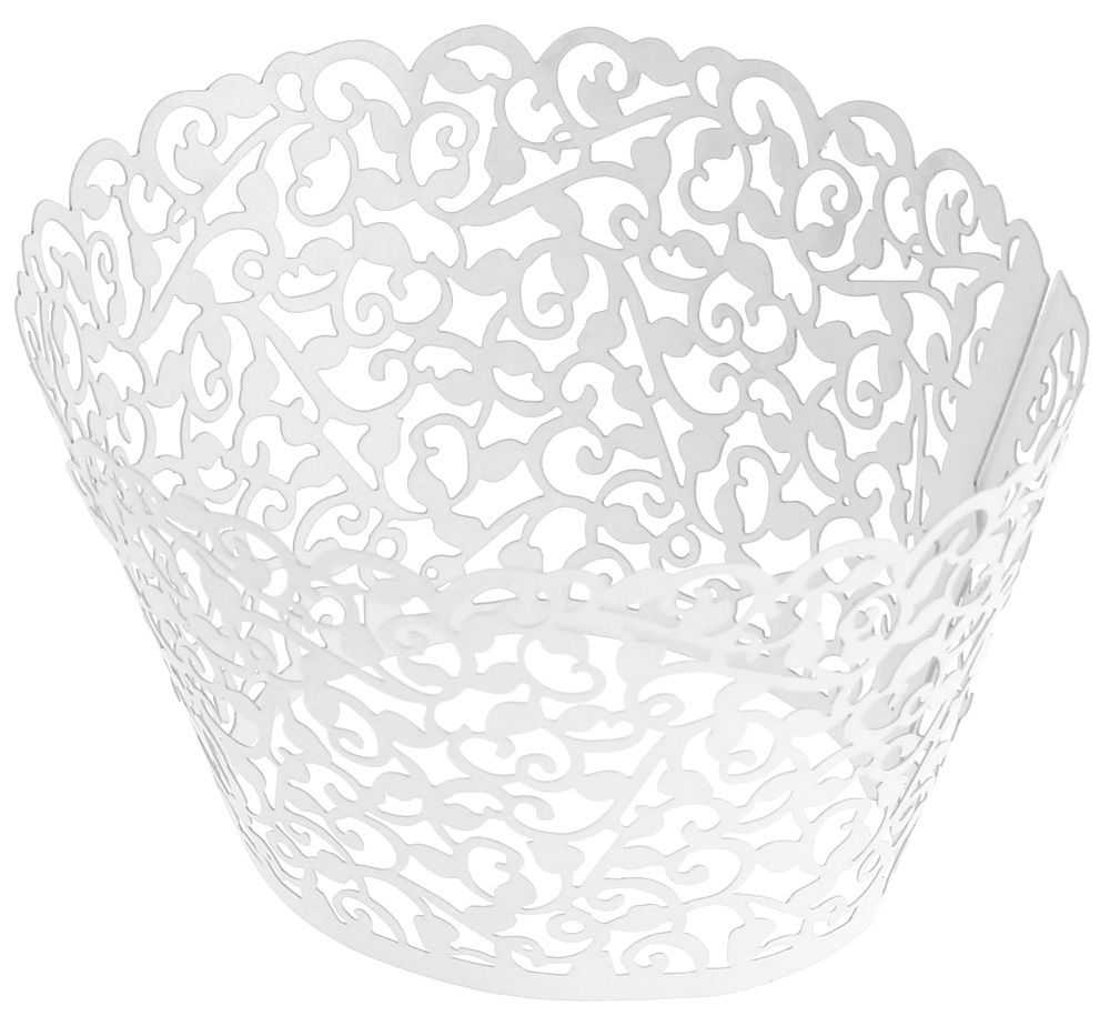 50pcs Muffin Case Cupcake Paper Cup Cake Wrapper Birthday Wedding Decor