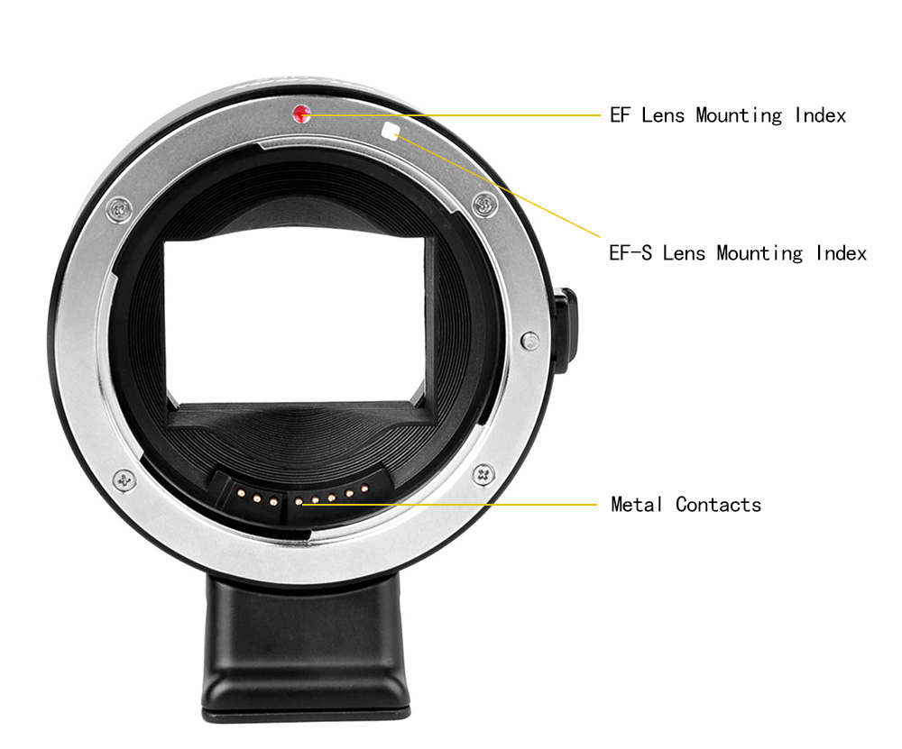 Viltrox EF NEX III Lens Mount Adapter for Canon EF / S to Sony Full Frame A72