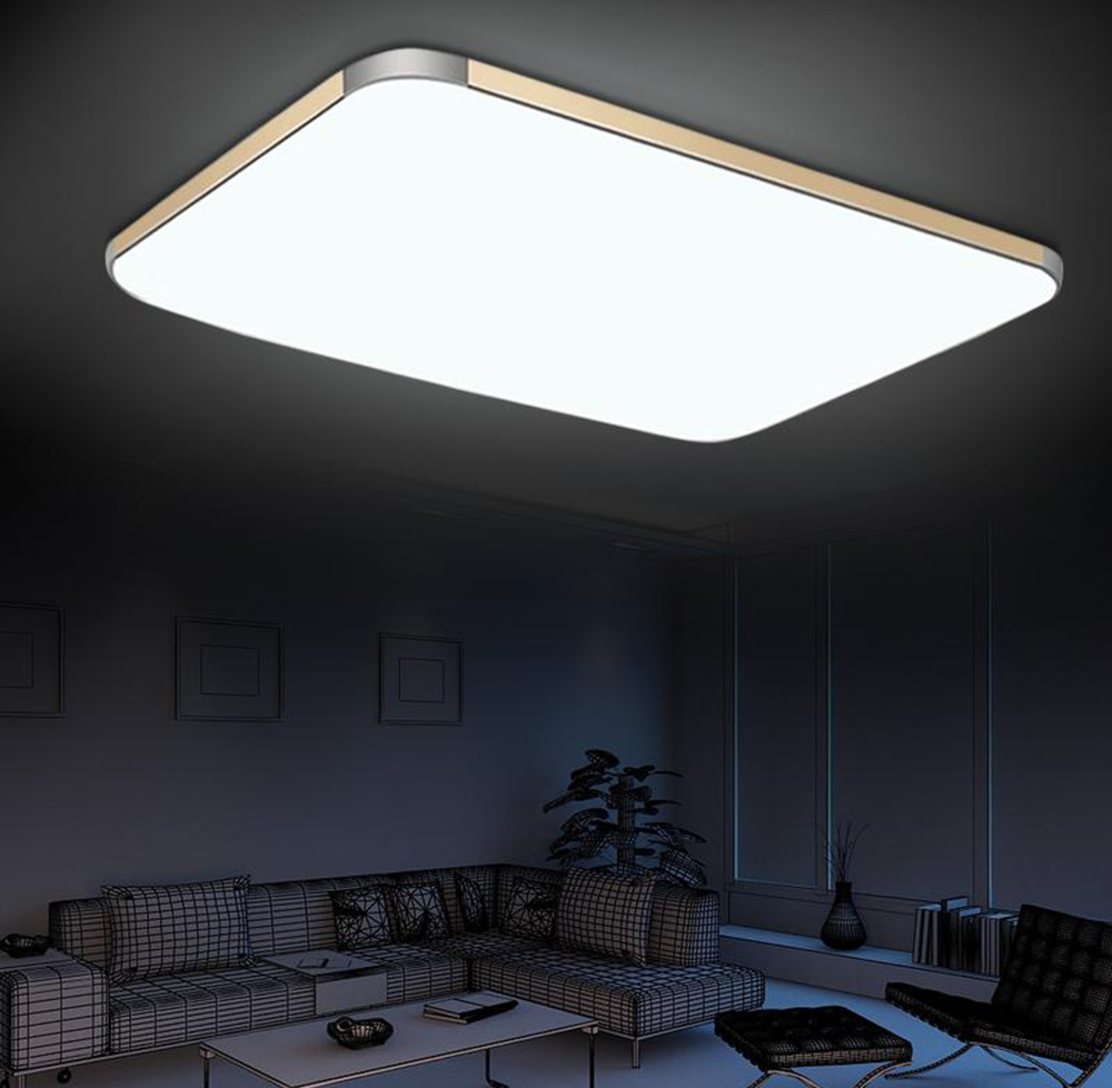 Ultra-thin 24W Acrylic LED Ceiling Light Living Room Restaurant Reading Lamp