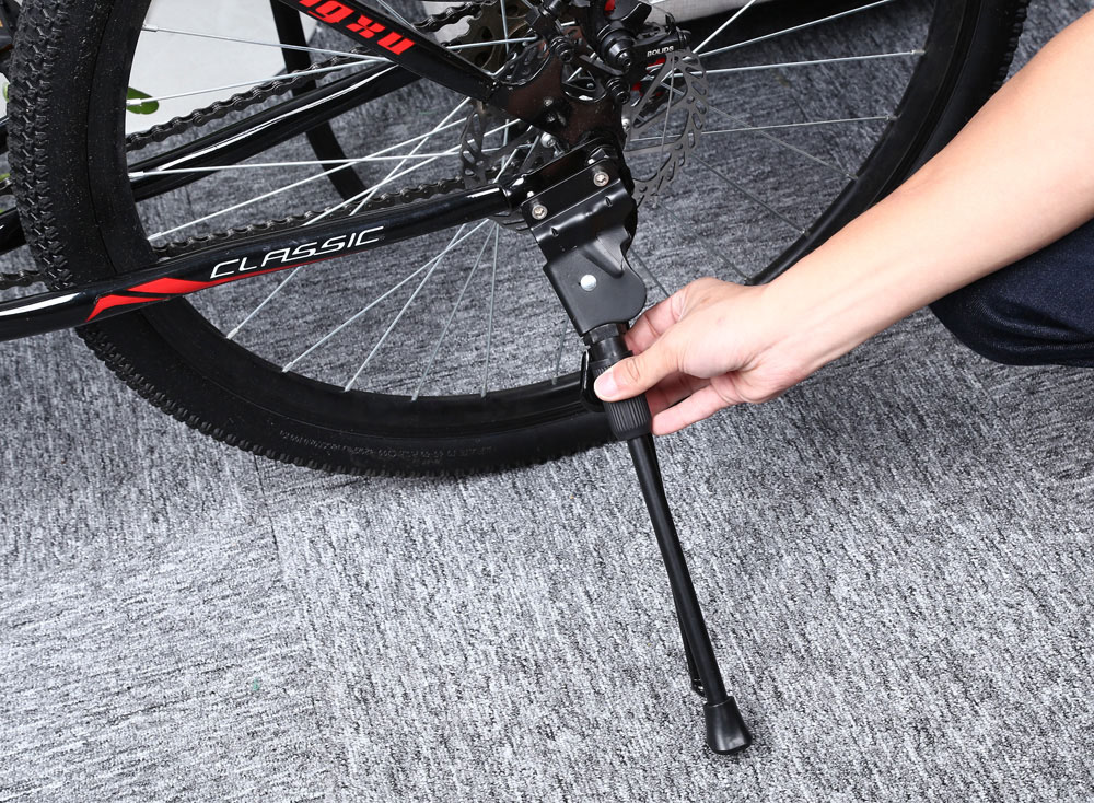 Replaceable Aluminium Alloy Kick Stand Bicycle Cycling Side Kickstand Holder for Merida