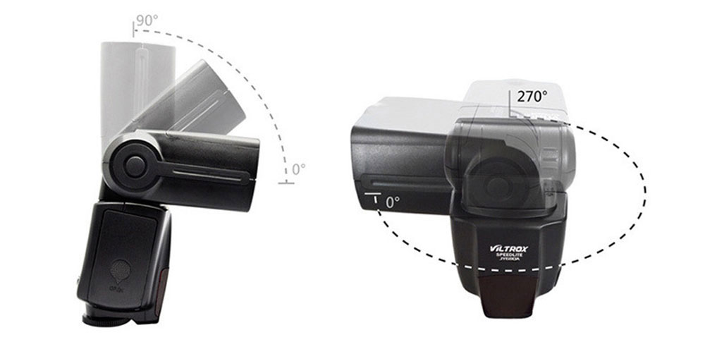 VILTROX JY - 680A Universal LCD Flash Speedlite Light for Any Digital Camera with Standard Hot Shoe Mount