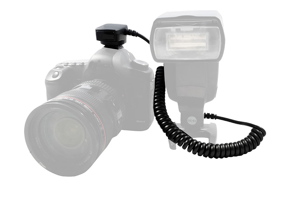 Viltrox OC-E3 TTL Off-camera Shoe Cord for Canon DSLR / Flashes