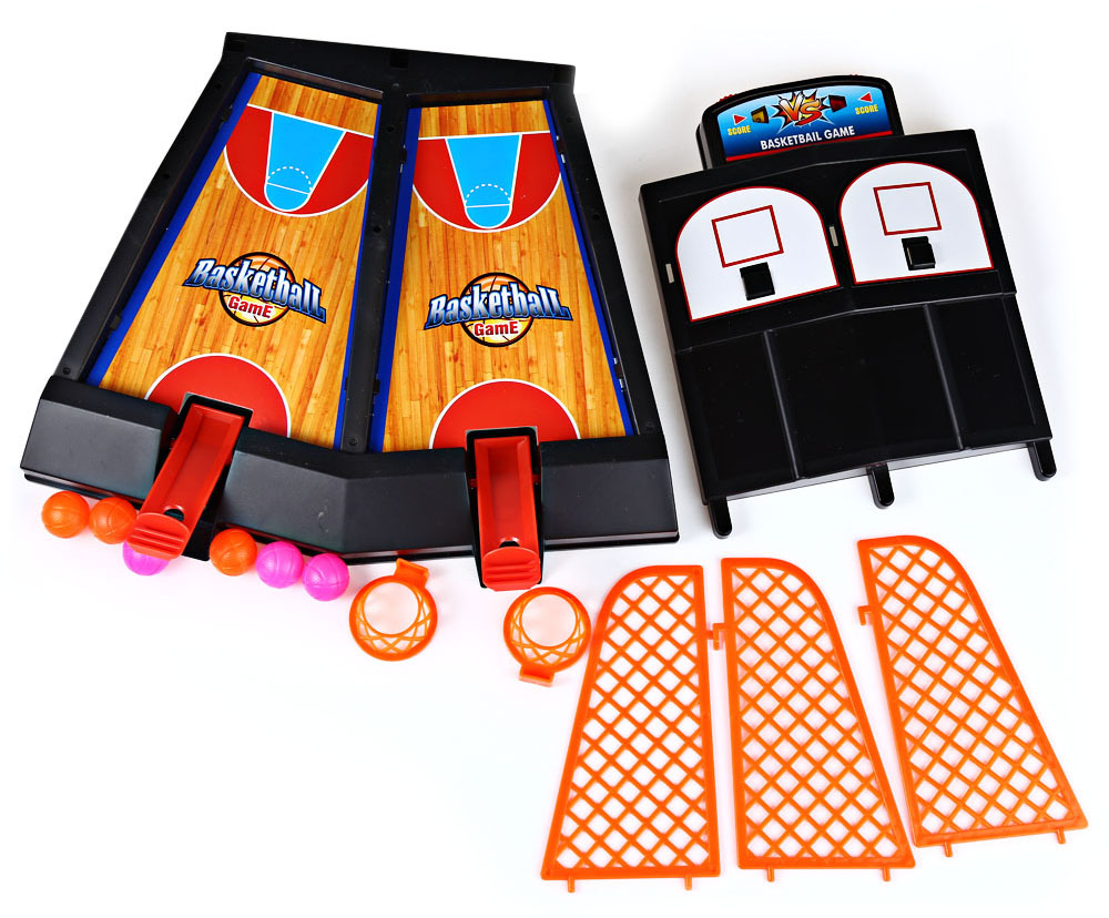 Double Finger Shooting Basketball Desktop Game Toy