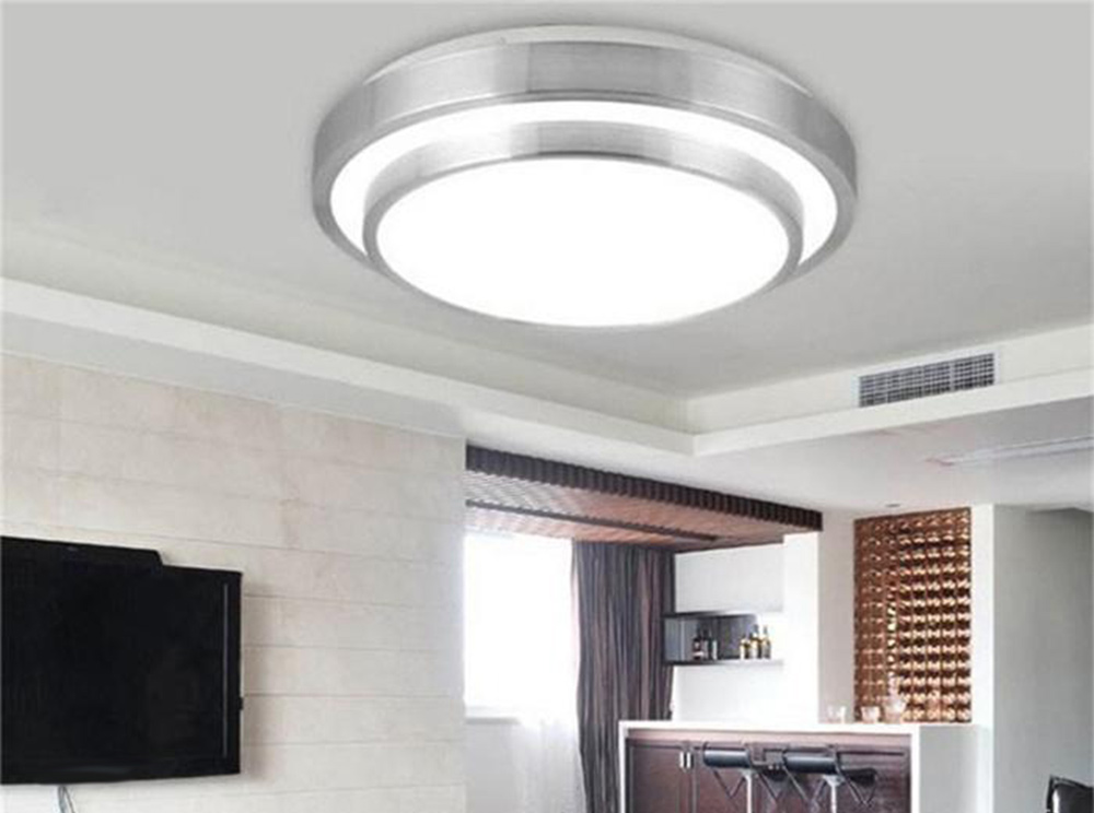 Round Double Side 15W LED Ceiling Light Bedroom Lamp