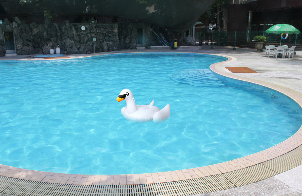 Swimming Water Lounge Pool Giant Rideable Swan Inflatable Float Toy