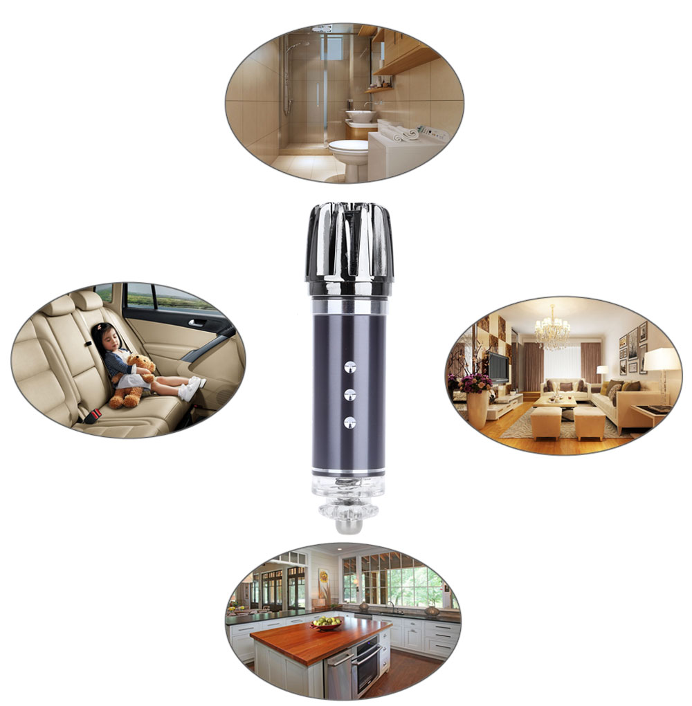JO - 6278 Impulse Type Car Air Purifier Ionizer Atmosphere Cleaner Gadget