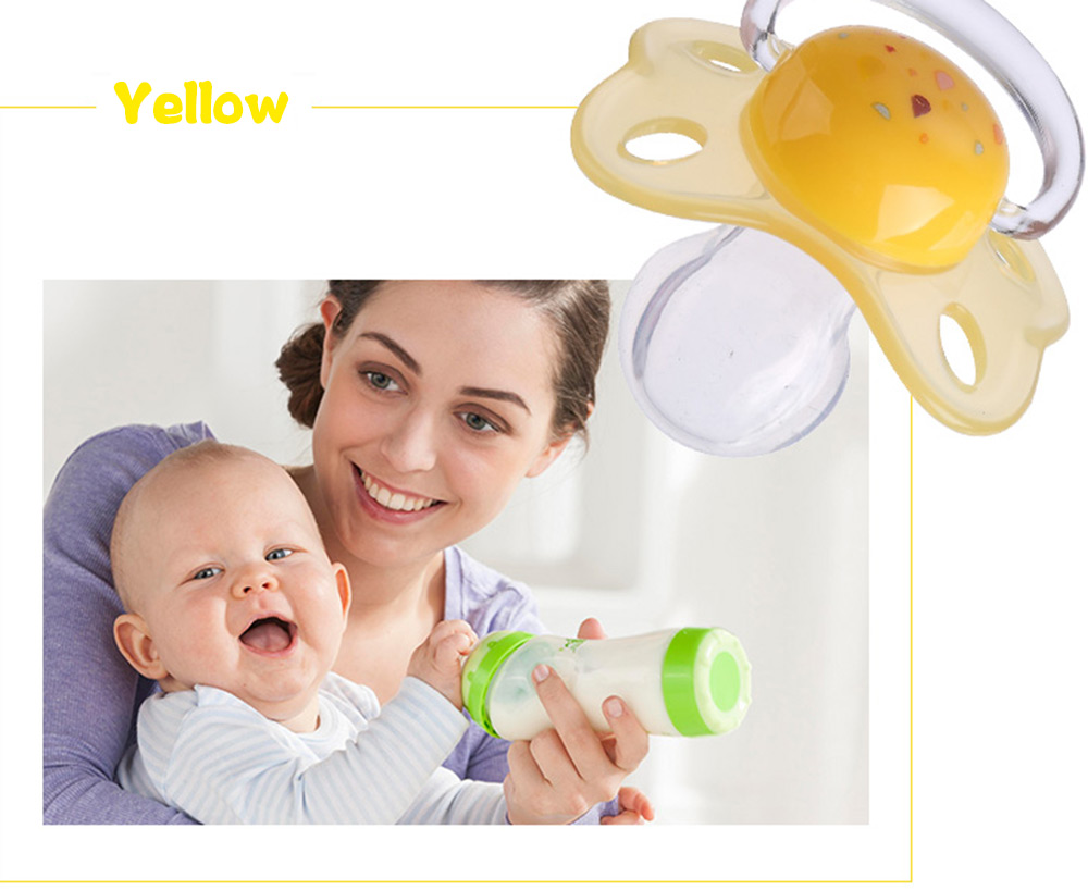 Rikang Size S Cute Portable BPA Free Babies Silicone Pacifier