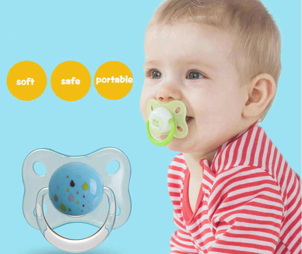Rikang Size L Cute Portable BPA Free Babies Silicone Pacifier