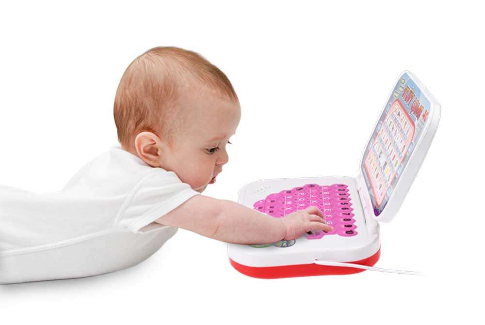 Kids Mini PC Learning Machine Educational Toy with Mouse