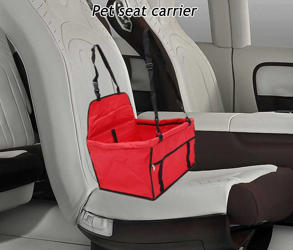 Folding Car Pet Seat Bag Puppy Safety Belt Carrier Cover Travel Products