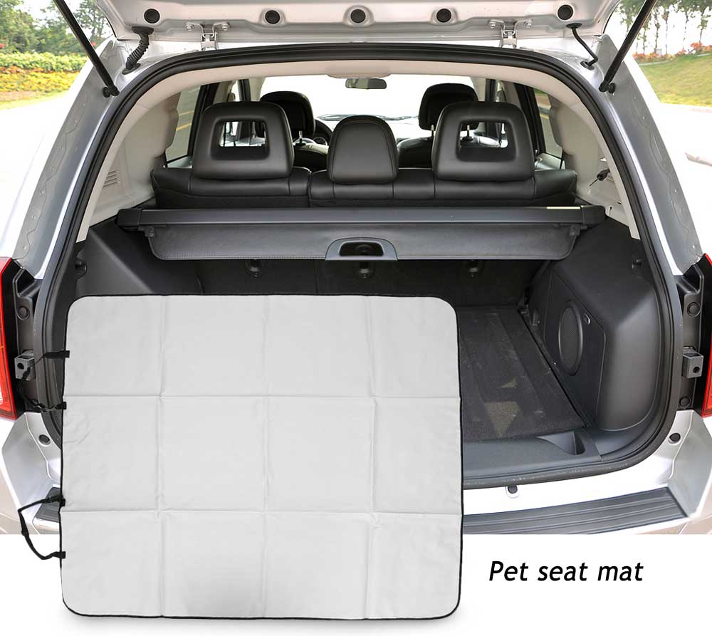 Folding Car Trunk Pet Seat Mat Puppy Safety Carpeting Cover Liner Travel Products